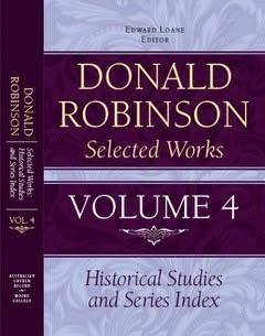 Donald Robinson - Selected Works Volume 4