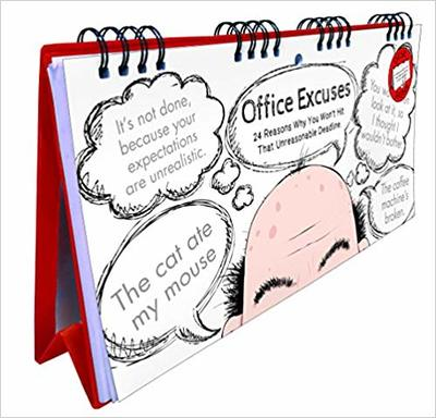 Office Excuses Flip Book