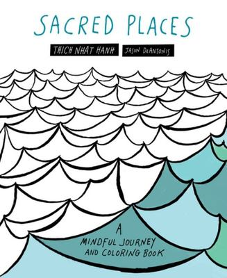 Sacred Places - A Mindful Journey and Coloring Book