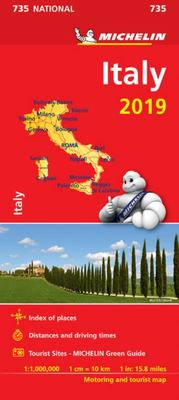 Map Italy 2019