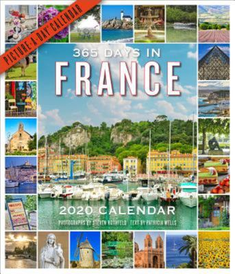 365 Days in France Picture-A-Day Wall Calendar 2020