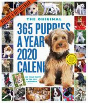2020 365 Puppies-A-Year Picture-a-Day Calendar (W06415)