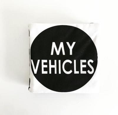 My Vehicles: Handcrafted Luxe Soft Book