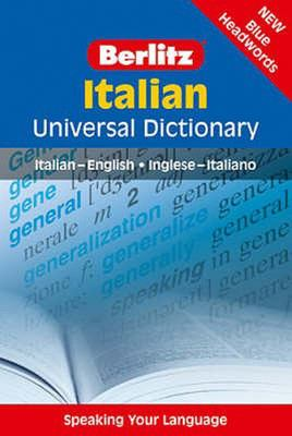 Italian - Berlitz Universal Dictionary - Italian-English - Inglese-Italiano