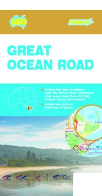 Touring Map: Great Ocean Road Map 7th Edition