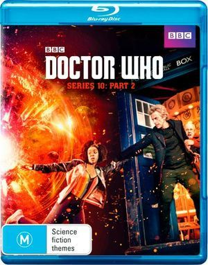 Doctor Who S10 Part 2 Bluray