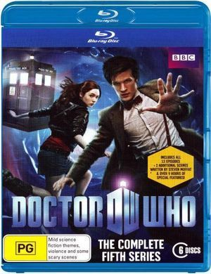 doctor who complete fifth series