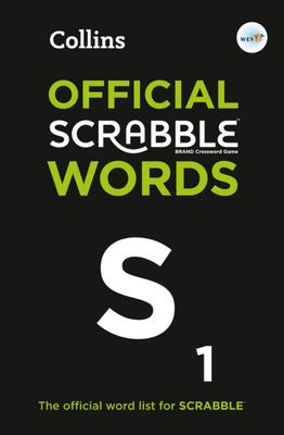 Collins Official Scrabble Words: The Official, Comprehensive Wordlist for Scrabble(tm)