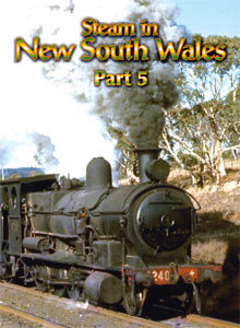 STEAM IN NEW SOUTH WALES PART-5 DVD
