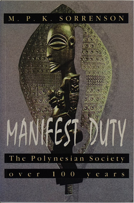 Manifest Duty The Polynesian Society Over 100 Years
