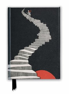 British Library Journal: Hans Christian Andersen, a Figure Walking up a Staircase (Foiled Journal)