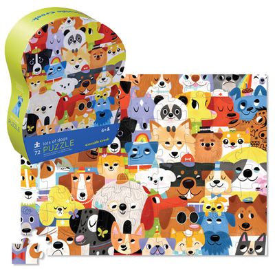 Lots of Dogs Puzzle (72 pc)