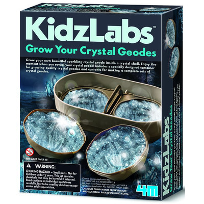 Grow Your Own Crystal Geodes (KidzLabs)