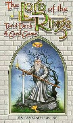 Lord of the Rings Tarot Deck and Card Game