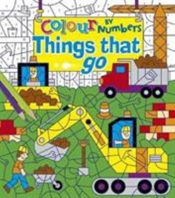 COLOUR BY NUMBERS: THINGS THAT GO