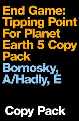 end game tipping point for planet earth