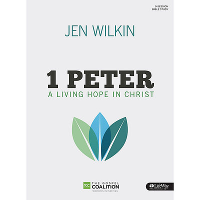 1 Peter Bible Study Book - A Living Hope in Christ