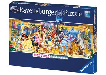 Ravensburger - Disney Characters Puzzle 1000pc