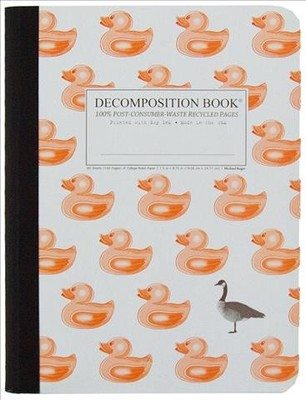 Duck Duck Goose Large Ruled Decomposition Notebook