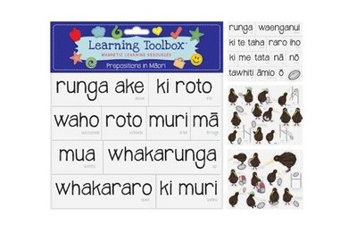 Prepositions in Maori (Magnetic Learning Resources)