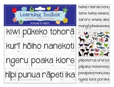 Animals in Maori (Magnetic Learning Resources)