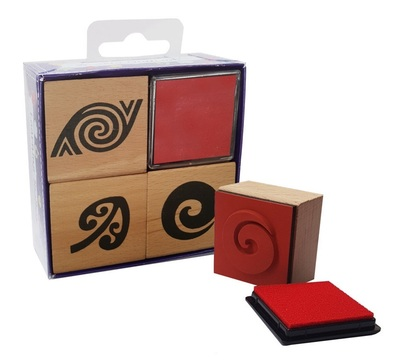Maori Pattern Wooden Stamps (Learning Resources)
