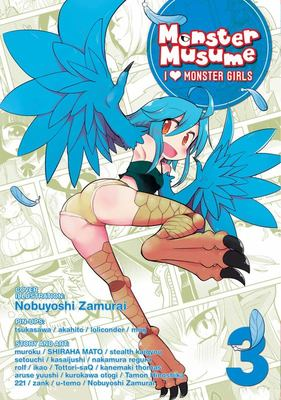 Monster Musume - I Heart Monster Girls Vol 3