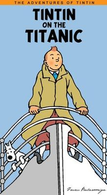 Blank Card Tintin On The Titanic (DPC51)