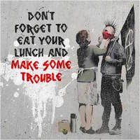 Homepage banksy anarchist and mother