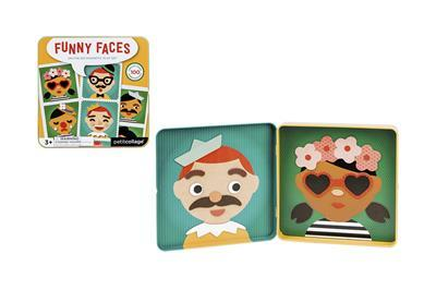 Funny Faces On the Go Magnetic Play Set