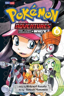 Pokemon Adventures Black & White #6