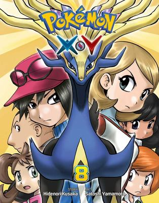 Pokemon X Y, Vol. 8