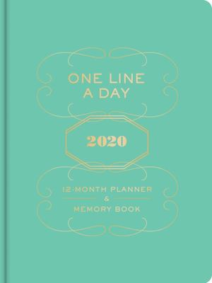 One Line a Day 2020 12-Month Planner