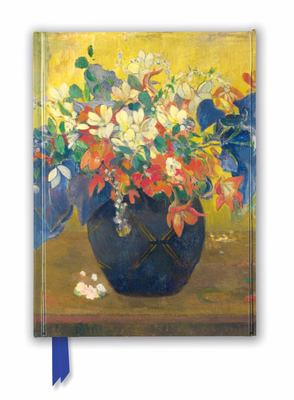 National Gallery: a Vase of Flowers by Paul Gauguin (Foiled Journal)