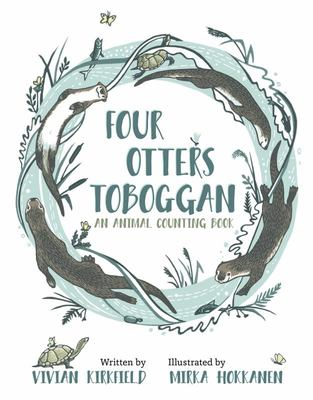 Four Otters Toboggan - An Animal Counting Book