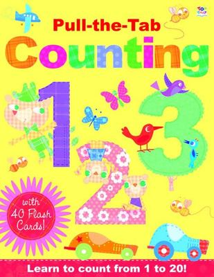 Pull-The-Tab Counting - Learn to Count from 1 To 20! with Flash Cards