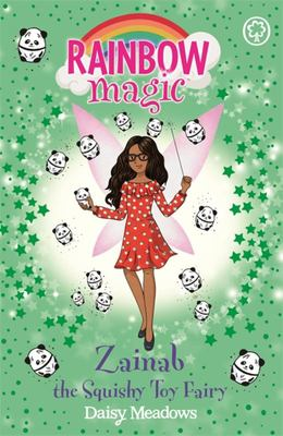 Zainab The Squishy Toy Fairy (Rainbow Magic)