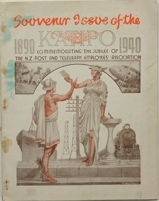 The Katipo Souvenir Issue Commemorating the Jubilee of the NZ Post and Telegraph Employees Association 1890-1940