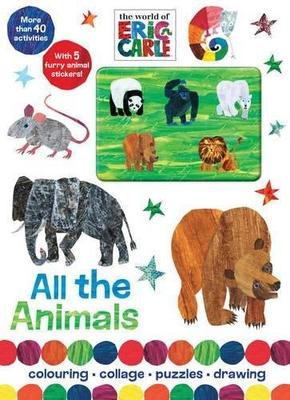 The World of Eric Carle All the Animals: Colouring