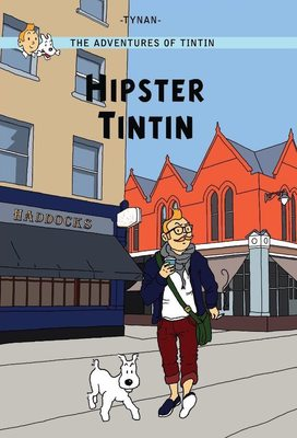 Large cardhipstertintin