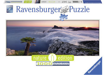 In A Sea Of Clouds 1000pcs Panorama Puzzle