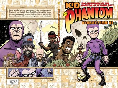 Kid Phantom Trade Paperback - Kollection #1