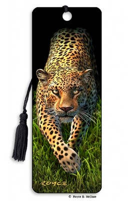 Leopard 3D bookmark