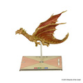 D&D Attack Wing Premium Brass Dragon Figure