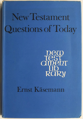 New Testament Questions of Today