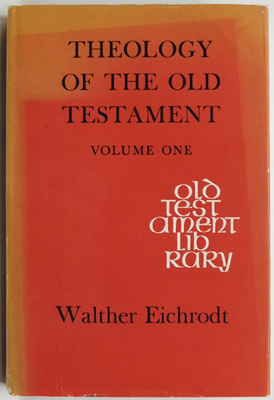 Theology of the Old Testament Volume One