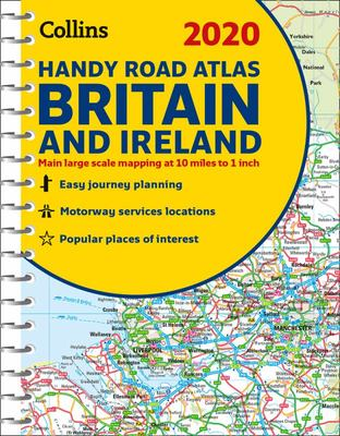 2020 Collins Handy Road Atlas Britain