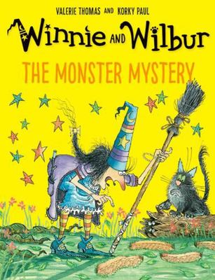 The Monster Mystery (Winnie and Wilbur)