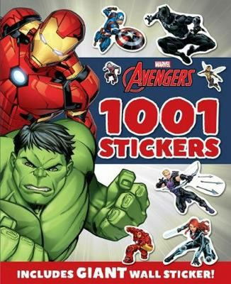 Avengers 1001 Sticker Book