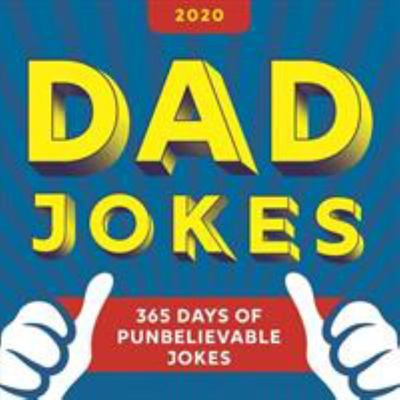 2020 Dad Jokes - 365 Days of Punbelievable Jokes Boxed Calendar